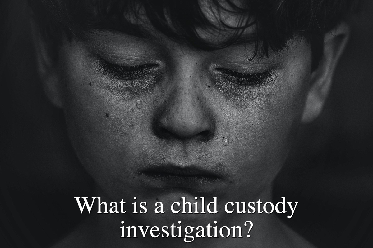 What is a child custody investigation?