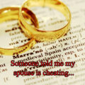 Someone told me my spouse is cheating...